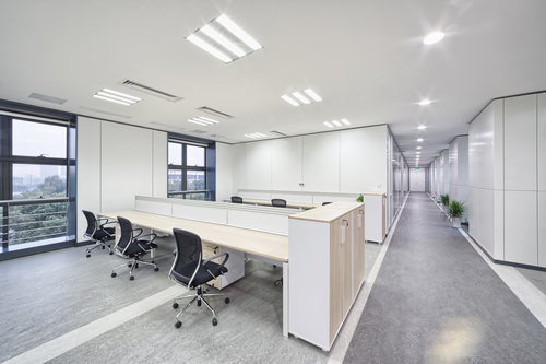 modern office construction